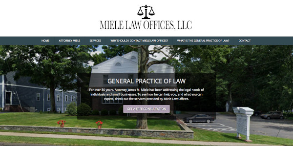 Miele Law Offices Home Page